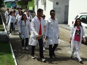 Estudantes de Farmácia do Uninorte Laureate no CIDE.