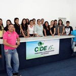 Estudantes do Instituto Federal do Amazonas (Ifam), no CIDE.